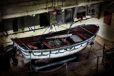 Lifeboat Art Print by Evie Carrier
