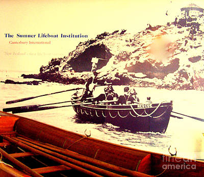 Photograph - Lifeboat Institution by John Potts