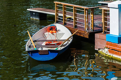 Lifeboat On Duty - Featured 3 Art Print by Alexander Senin