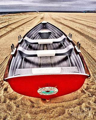 Photograph - Lifeboat On The Beach by Nick Zelinsky