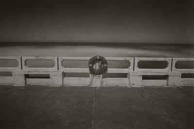 Print featuring the photograph Lifebuoy by Amarildo Correa