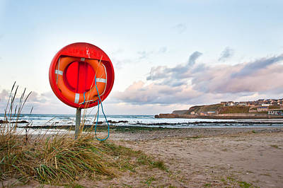 Cullen Photograph - Lifebuoy by Tom Gowanlock
