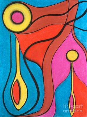 Pastel - Lifeforce by Birgit Seeger-Brooks