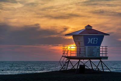 Roberto Photograph - Lifeguard At Beach by Vwpics - Roberto Lopez