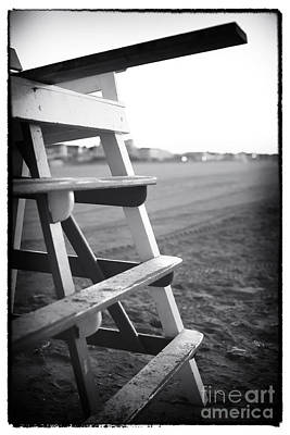 Photograph - Lifeguard Chair At Cape May by John Rizzuto