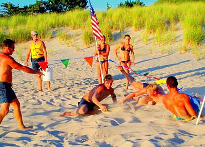 Photograph - Lifeguard Mayhem by Glenn McCurdy