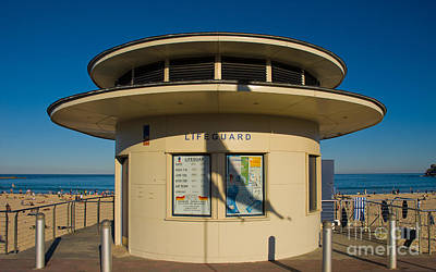 Photograph - Lifeguard Station - An Icon Of Bondi Beach - Sydney - Australia by David Hill