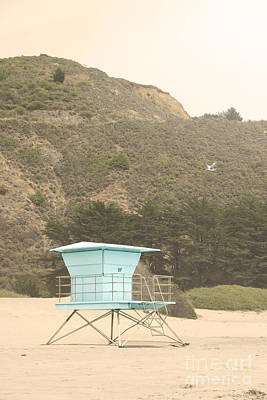 Photograph - Lifeguard Station by Cindy Garber Iverson