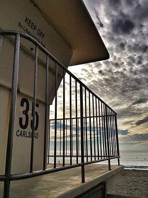Photograph - Lifeguard Station by Dave Hall