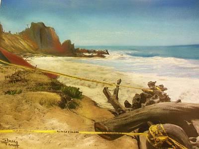 Lifeguard Station Destroyed Original
