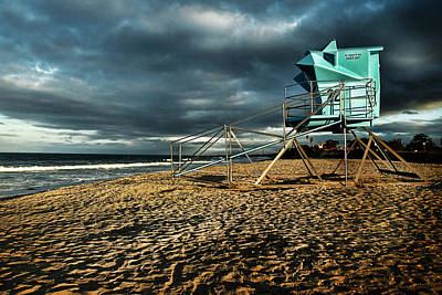 Lifeguard Tower Series - 9 Art Print