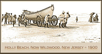 Mannequin Dresses Rights Managed Images - Lifeguards and Lifeboat Holly Beach  Now Wildwood New Jersey 190 Royalty-Free Image by A Macarthur Gurmankin