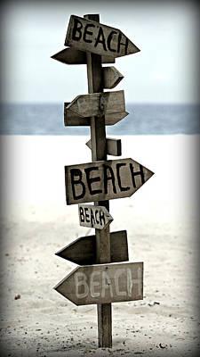 Thomas Kinkade - Lifes A Beach by Stephen Stookey