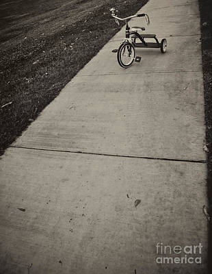 Photograph - Lifes Adventures Pedal To The Pavement by David Millenheft