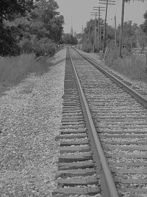 Photograph - Life's Worn Out Track by Guy Ricketts