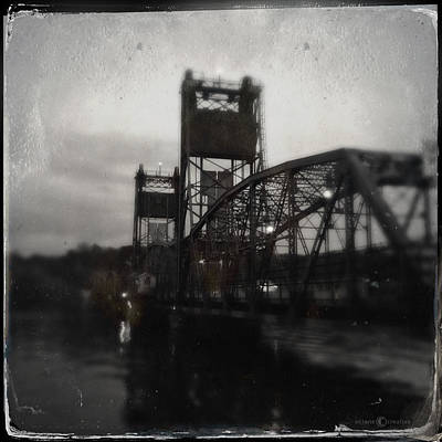 Photograph - Lift Bridge Last Of April by Tim Nyberg