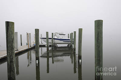 Photograph - Lifted Up Into The Fog by Dale Powell