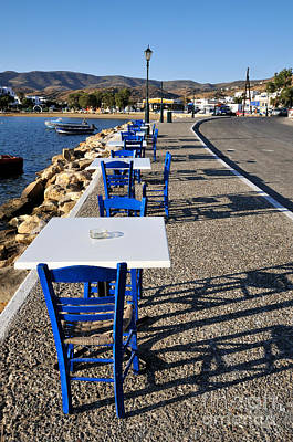 Photograph - Light And Shadow In Ios Island by George Atsametakis