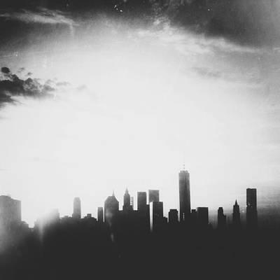 Chiaroscuro Digital Art - Light And Shadow Shades Of Grey by Natasha Marco