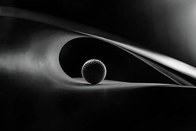 Golf Photograph - Light And Shadows by Olavo Azevedo