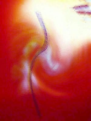 Digital Art - Light And Vase  by Phoenix De Vries