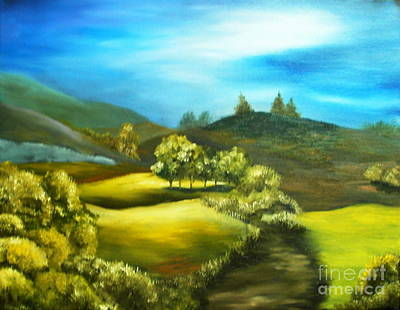 Painting - Light by Anna-maria Dickinson