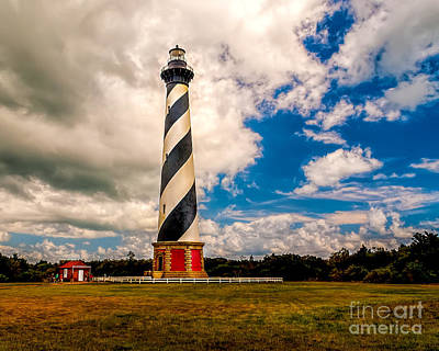 Photograph - Light At Cape Hatteras by Nick Zelinsky