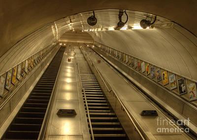 London Photograph - Light At The End ... by Deborah Smolinske