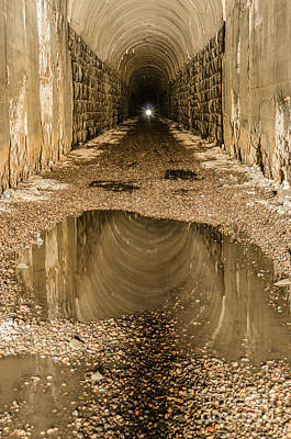 Photograph - Light At The End Of The Tunnel by Sue Smith