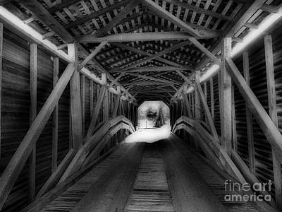 Light At The End Art Print by Skip Willits