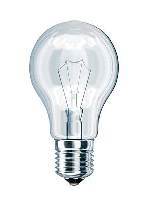 Digitally Generated Photograph - Light Bulb by Leonello Calvetti
