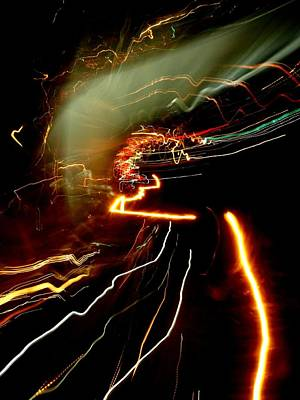Photograph - Light Curves 2 by David Pantuso