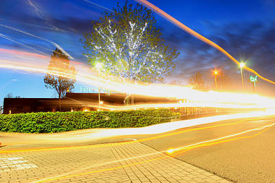 Colorful Photograph - Light Dance by Julia Fine Art And Photography
