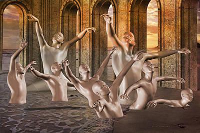 Fantasy Digital Art - Light  by Betsy Knapp