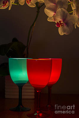 Photograph - Light Filled Wine by Brian Roscorla