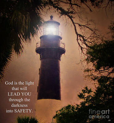 Photograph - Light From The Lighthouse by Sandra Clark