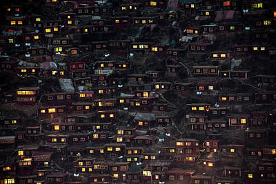 Tibet Photograph - Light From The Window by Sarawut Intarob