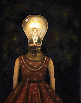 Light Headed Art Print