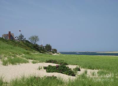 Photograph - Light House Beach by Michelle Welles