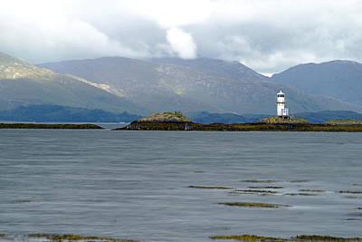 Photograph - Light House In Scotland Uk by Dubi Roman