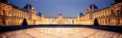 Featured Images Photograph - Light Illuminated In The Museum, Louvre by Panoramic Images