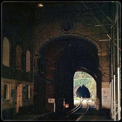 Victorian Wall Art - Photograph - Light In Between Two Tunnels by Alexandra Cook