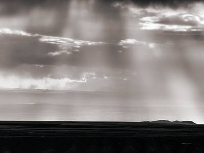 Photograph - Light In Clouds And Rain by Leland D Howard