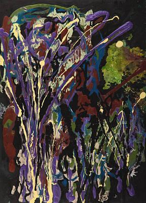 Light In Forest Art Print