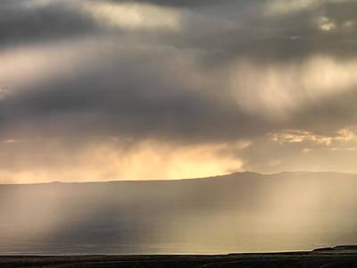 Photograph - Light In Rain by Leland D Howard