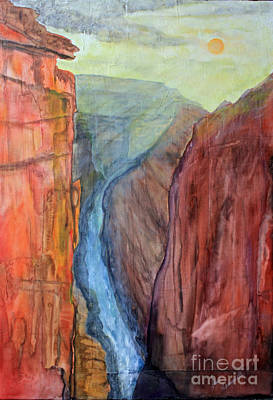 Light In The Canyon Original by Paul Chenoweth