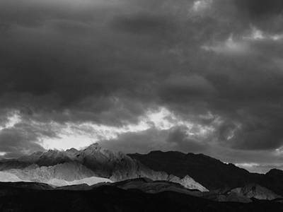 Light In The Mountains Art Print by Jenny Fish