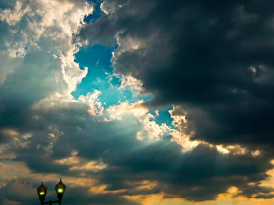 Light In The Storm Art Print by Pete Trenholm