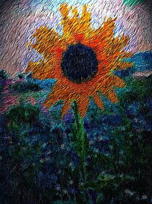 Western Art - Light Me Up by Lisa Holland-Gillem