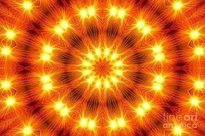 Light Meditation Art Print